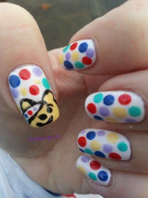 11 Best Pudsey Nails Images On Pinterest Babys Bear And Bears