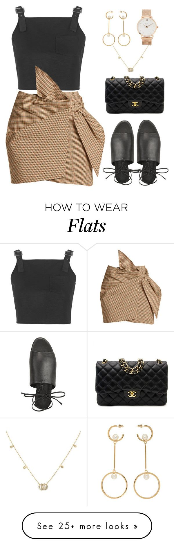 """Untitled #348"" by m0dernlove on Polyvore featuring Topshop, Étoile Isabel Marant, Chanel, Gucci, Chloé and CLUSE"