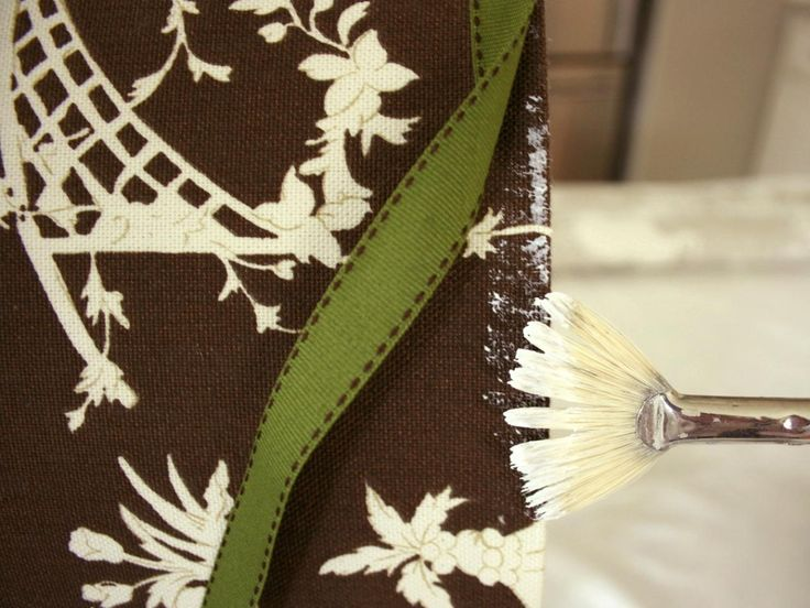 Learn+how+to+create+a+custom+fabric-covered+lampshade+with+these+step-by-step+instructions+at+HGTV.com.