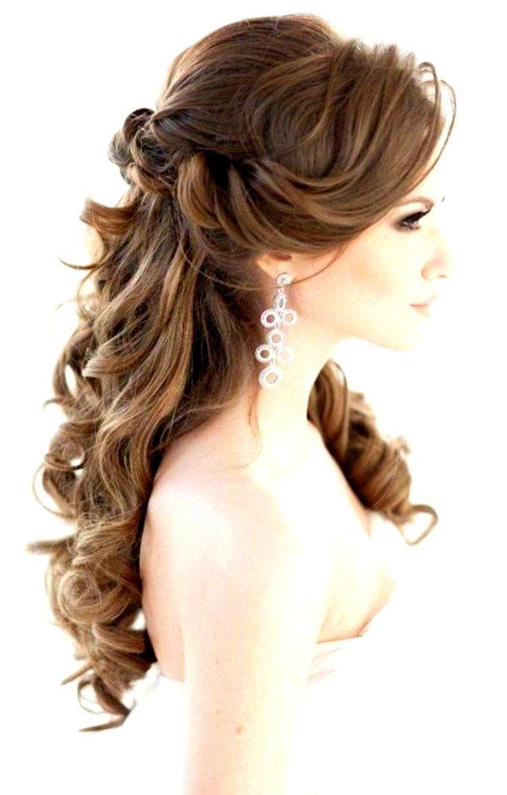 Bridal Hairstyles Long Hair Romantic Waves Wedding Hai Festliche Frisuren Lange Haare Offen Festliche Frisuren Lange Haare Festliche Frisuren Mittellange Haare
