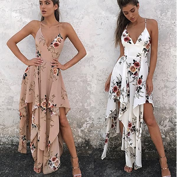 Only $20. Women's Bohemia Sleeveless Floral Print Beach Long Dress. Plus free shipping to worldwide.