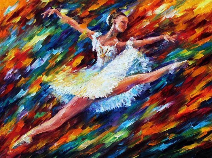 Leonid Afremov: Oil Paintings, Art Paintings, Leonidafremov, Oil On Canvas, Canvas Paintings, Canvas Art, Japan Art, Leonid Afremov, Dance