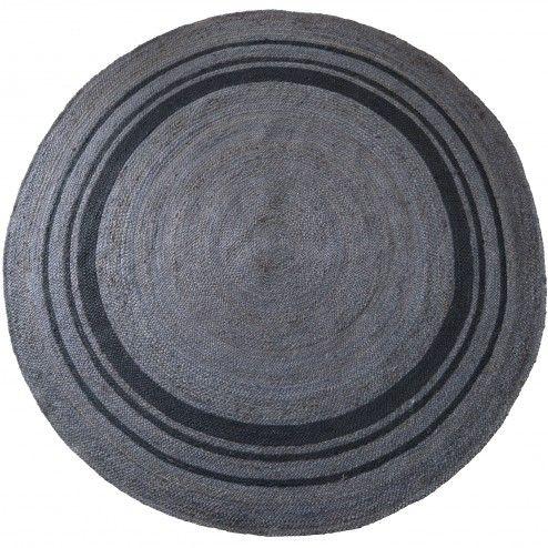 Be Pure Vloerkleed 'Coarse' 200cm, kleur grijs