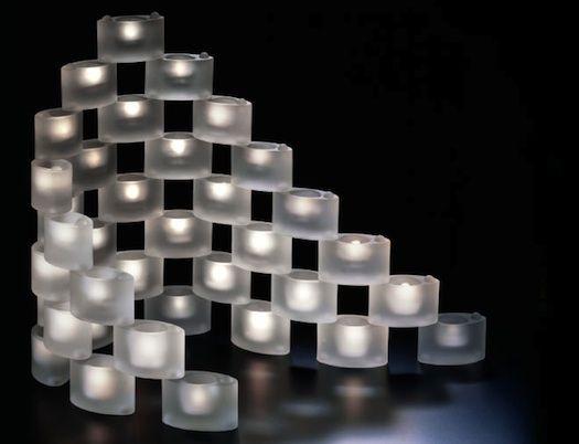 Handler stacking votives