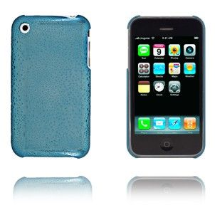 Fresh (Blå) iPhone Cover til 3G/3GS Lux-case.dk