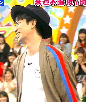 """#IDthelook #松本潤 jacket for next week's #VS嵐 is by VOTE MAKE NEW CLOTHES https://t.co/lJhTtuonxi"""