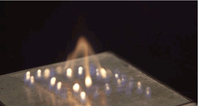 This speaker lights on fire (and it's supposed to)