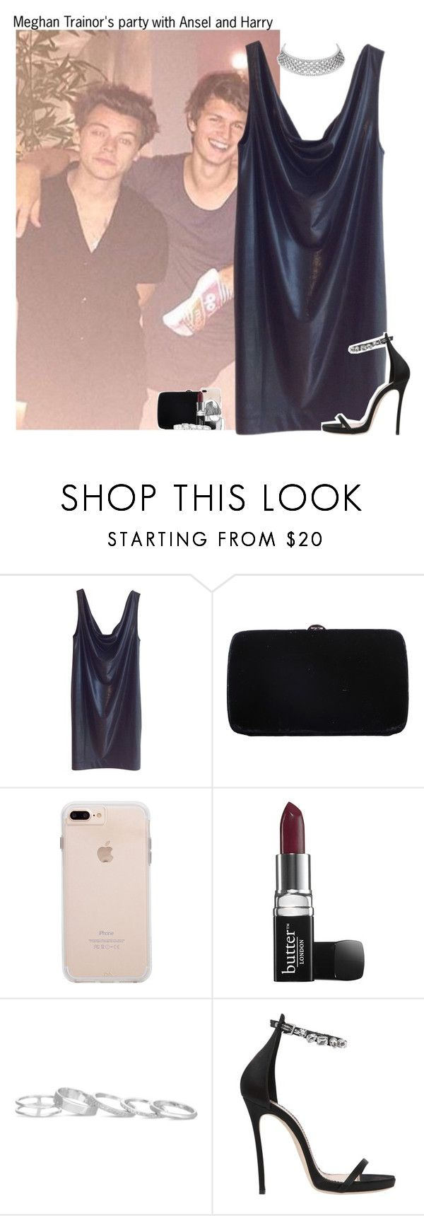 """#1793♡"" by sofi-camachod ❤ liked on Polyvore featuring COS, Sergio Rossi, Butter London, Kendra Scott and Dsquared2"