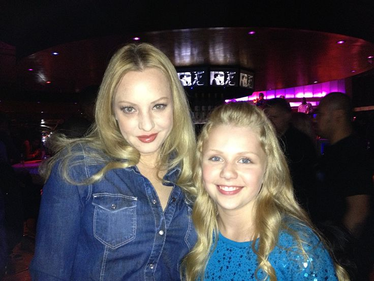 Wendi McLendon-Covey and Cassie Brennan at The Single Moms Club wrap party.