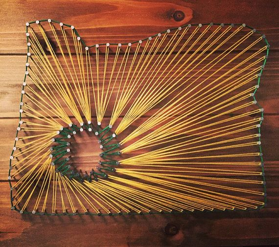 Oregon String Art Oregon Ducks by Orelinas on Etsy