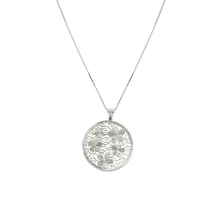 Collier en argent julie k