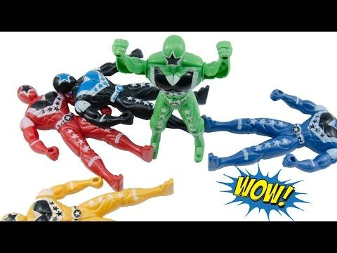 Hero Fighter Stop Motion Peel Toys Superman Hero Fighter Fun For Kids