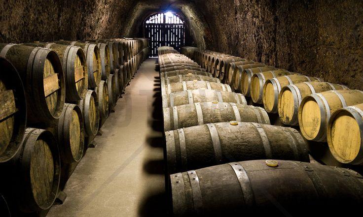 Barrels in Storage - Fototapeter & Tapeter - Photowall