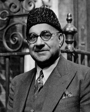 Liaquat Ali Khan, one of the Founding Fathers of modern Pakistan