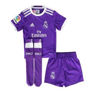 2016-2017 Real Madrid Adidas Away SMU Mini Kit