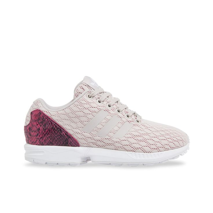 Adidas Women\u0027s ZX Flux - Pearl Grey / Joy Pink