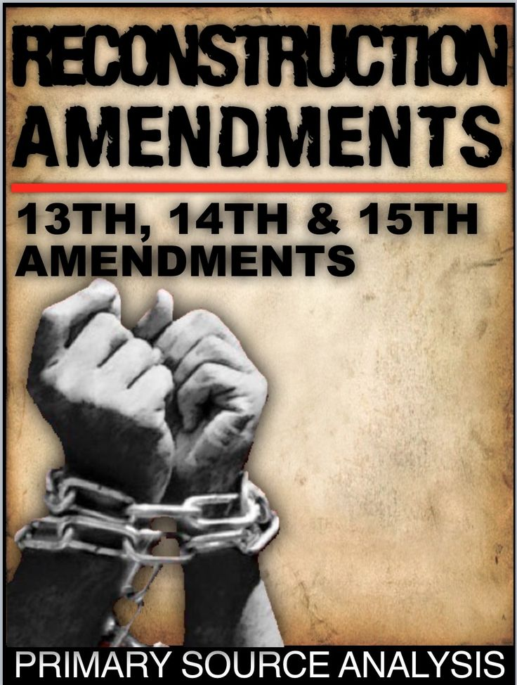 The Reconstruction Amendments Primary Source Activity, teaches students about the significance of the 13th, 14th, and 15th Amendments to the U.S. Constitution. It also links the Fourteenth Amendment to Brown v. Board of Education. This can be used in class or as homework as it's a completely stand alone assignment. This is also perfect for substitute teacher plans, and of course, a key is included.
