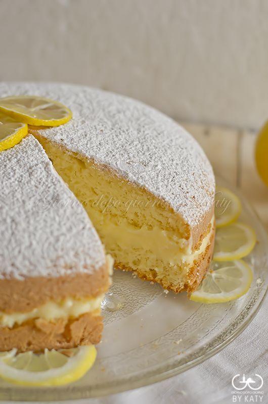 Torta alla crema di limone, una sofficissima bontà | Giorno dopo giorno by Katy