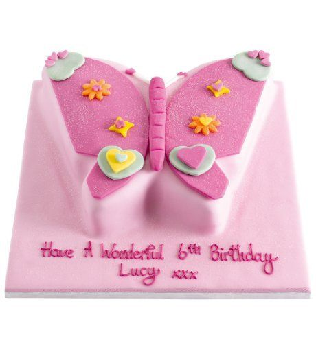 Butterfly Cupcake Birthday Cakes