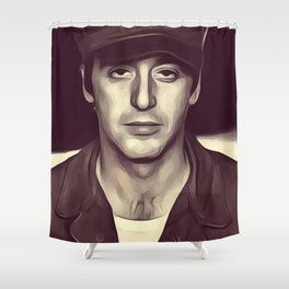 Al Pacino Actor Shower Curtain