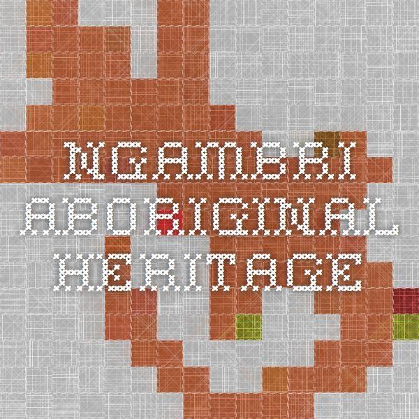 Ngambri Aboriginal Heritage