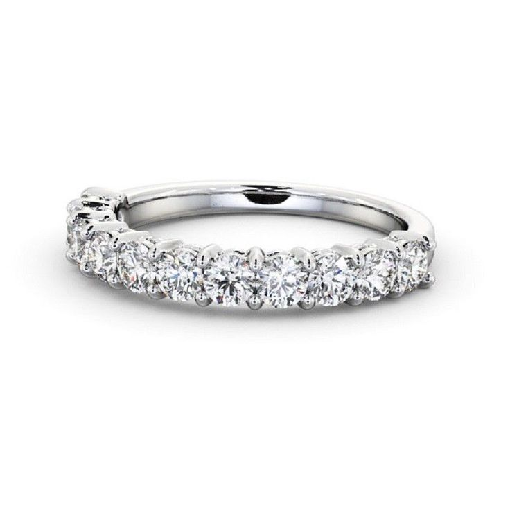 Round Brilliant Diamond Claw Setting Half Eternity Wedding Ring , 18k White Gold #Charujewels #Eternity #Wedding 0.15Ct Petite Twisted Vine Round Diamond Half Eternity Ring 14k White Gold #CharuJewels #Eternity #Wedding IGI Certificate 0.35Carat Round Bar Setting Eternity Diamond Band 14k White Gold #Charujewels #Eternity #Wedding #Diamond #Diamondbands #valentinesday #Solitaire #White #valentinesdayri #Rose #Ring #Ebay #18 #karat #14 #valentinesdayring #Travel #Pin #Interest…