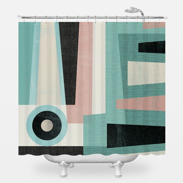 Minimalist Shower Curtain