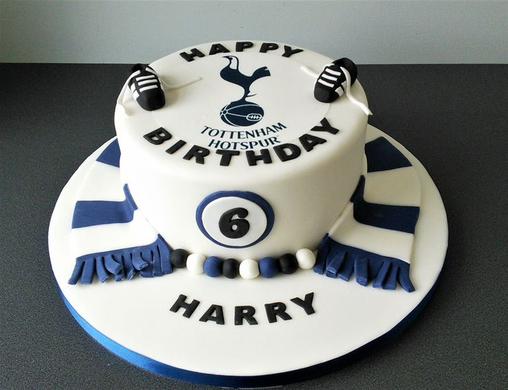 Tottenham Hotspur Cake Mart 237 N 22 Cake 40th Birthday