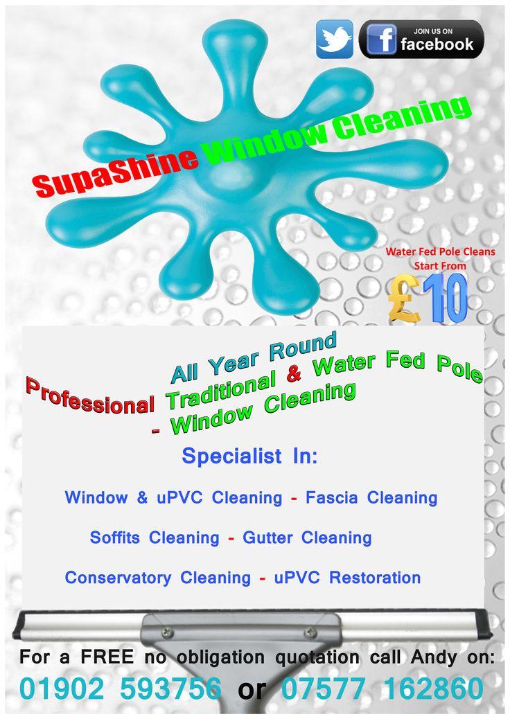 12 best supashine window cleaning images on pinterest window supashine window cleaning flyer front saigontimesfo