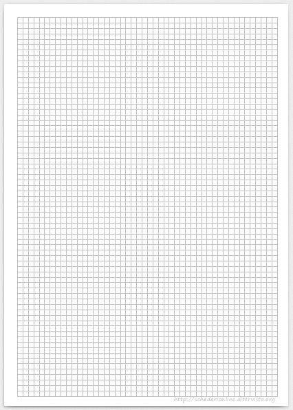 Papier millimétré 0,4 cm