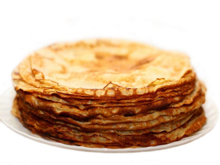 Pannenkoekenbeslag om zelf lekkere pannenkoeken te bakken. Met dit recept bak je zelf ook deze lekkernij waar niet alleen kinderen dol op zijn