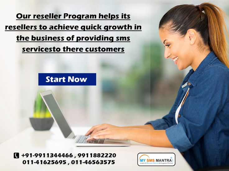 Our reseller Program helps its resellers to achieve quick growth in the business of providing sms services to there customers. know more visit : http://www.mysmsmantra.com/