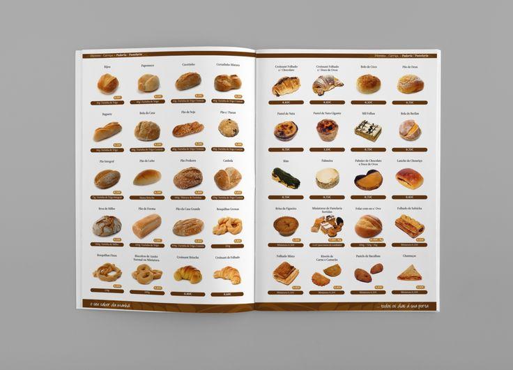 Volta do Pão | Bakery Catalog on Behance - Unleash Design more at www.unleashdesign.ca #GraphicDesign #VoltadoPao  #Bakery #catalog