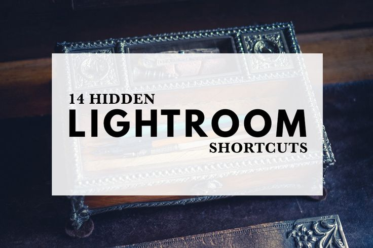Several of Lightroom's most useful shortcuts are hidden. This useful guide reveals 14 of Lightroom's handiest hidden shortcuts.