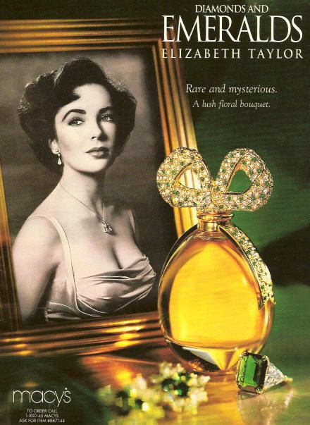 Image detail for -Diamonds and Emeralds Elizabeth Taylor perfume - a fragrance for women ...