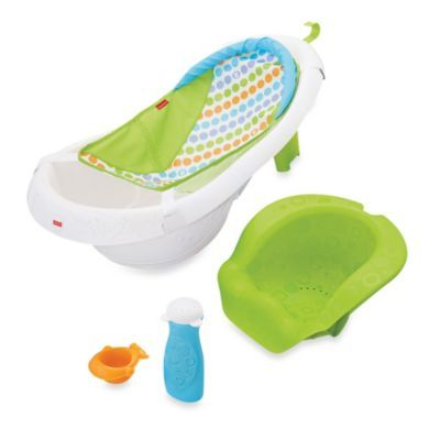 See more detail about Fisher-Price® 4-in-1 Sling n Seat Bath Tub..