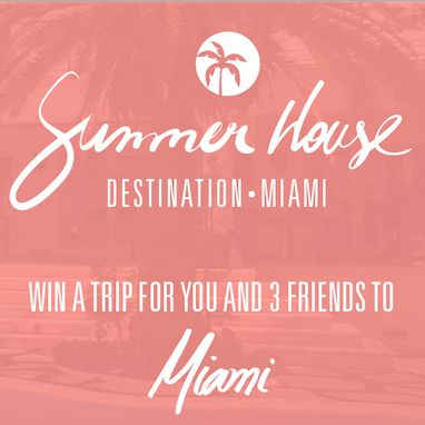 Join Vogue Eyewear Summer House contest and stand for a chance to win a week-long vacation in a luxurious house for you and three friends in Miami.