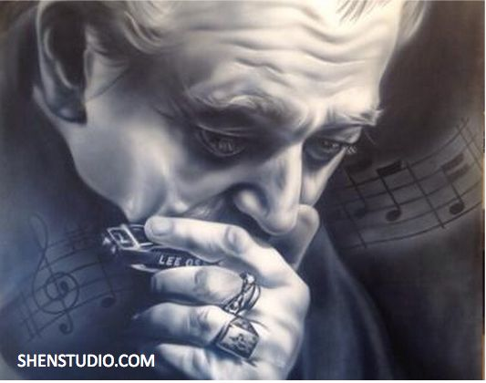 Charlie Musslewhite by SHEN  $53.00–$925.00  Acrylic, Airbrush, Canvas, Musician, Paper, Portraiture, Street Art. Tags: acrylic, airbrush, charlie musslewhite, giclees, musician, paper, shen, street art, studio. http://shenstudio.com/product/charlie-musslewhite-by-shen/