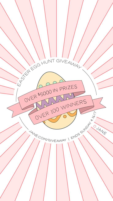 Jane.com $5,000 Easter Egg Hunt Giveaway!