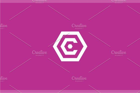 Cover - Letter C Logo by yopie on @creativemarket