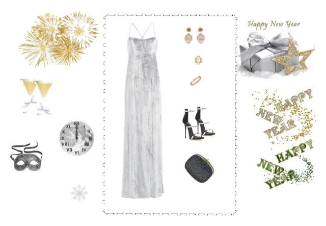 """""""Unbenannt #132"""" by yelo7705 ❤ liked on Polyvore featuring Galvan, Giuseppe Zanotti, Miguel Ases, Tessa Metcalfe, Hamilton and Judith Leiber"""
