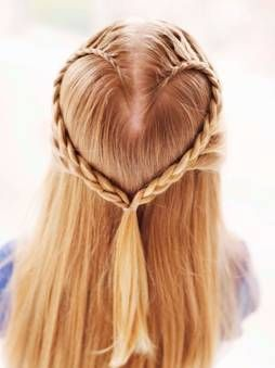 DIY: Heart Shaped Braid for Valentine's Day