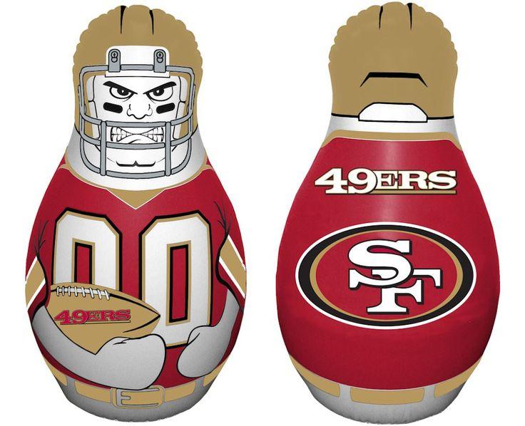 San Francisco 49ers Tackle Buddy Punching Bag
