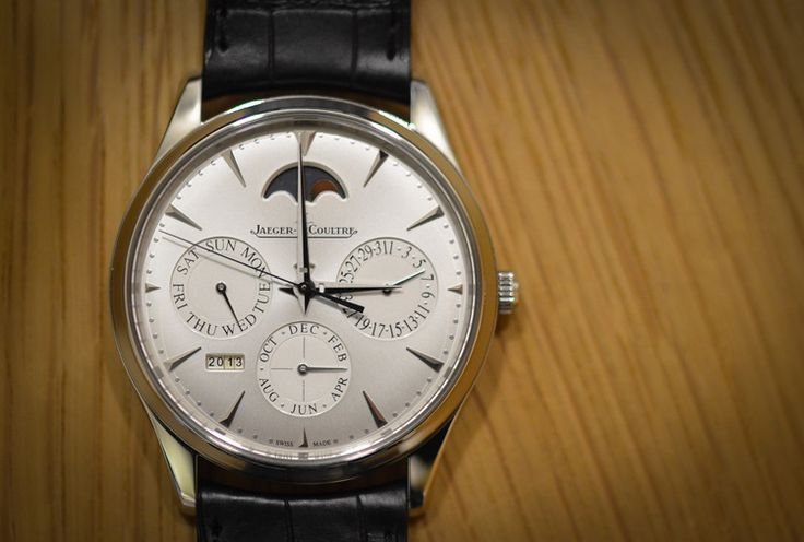 Jaeger-LeCoultre Master Ultra Thin Perpetual Calendar in stainless steel. $19,950