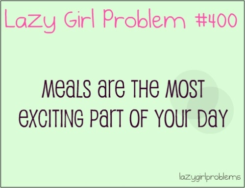 More like a fat girl problem... I would know.