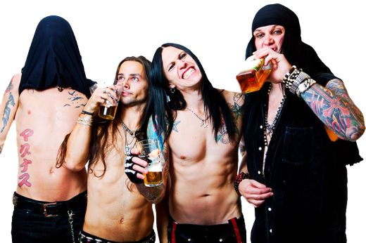 The next statement is true... Hardcore Superstar. Another amazing Swedish sleaze rock band I love