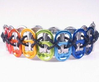 pop tab bracelet  simple crafts for teens