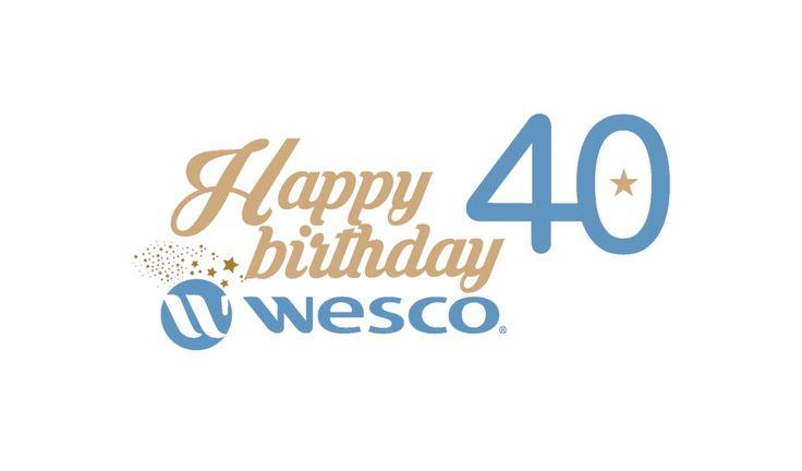 Happy birthday WESCO ! 40 ans d'engagement pour inspirer des millions de sourires d'enfants, à découvrir en vidéo