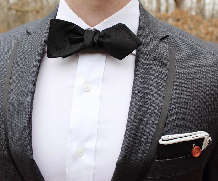 Solid Satin - Black. Pocket Squares, Black Tie ...