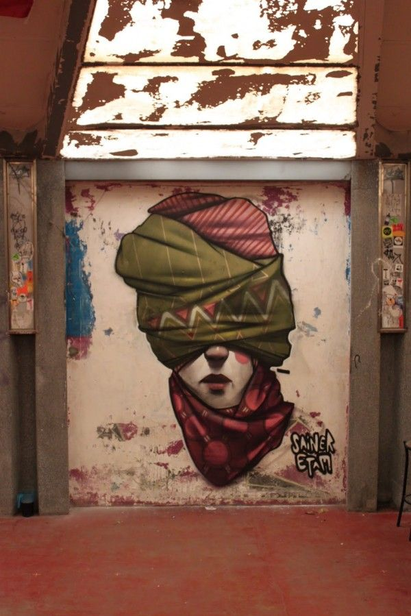 Huge Street Art by Sainer and Bezt